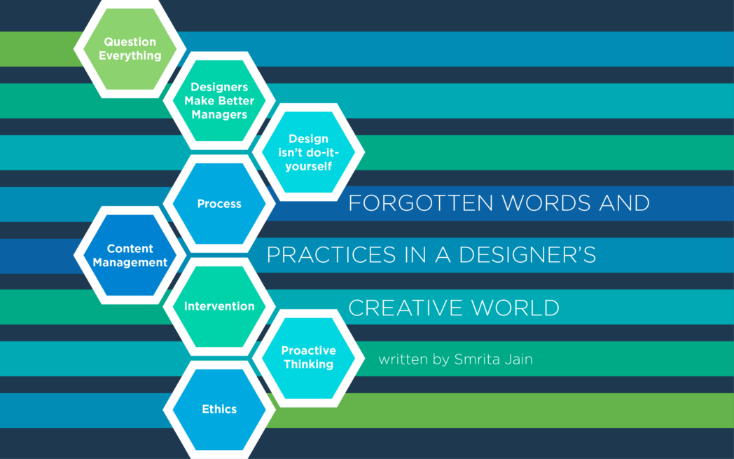 Forgotten Words & Practises in a Designer's Creative World